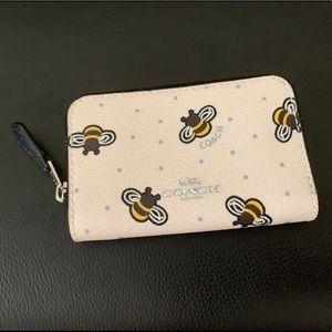 COACH Bee Card Case